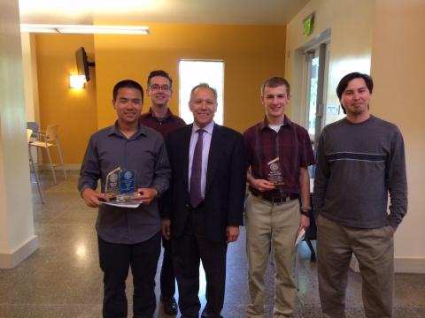 Grossman award for undergrads in Physics