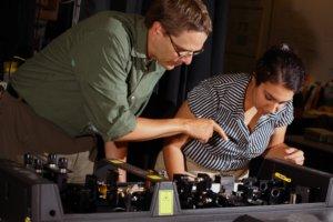 Optics in the Sharping lab
